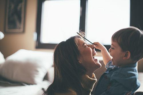 Pre-natal digital detox retreat