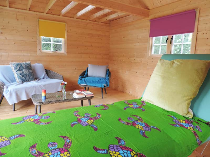 Nature and Wellbeing treatment studio in Kent