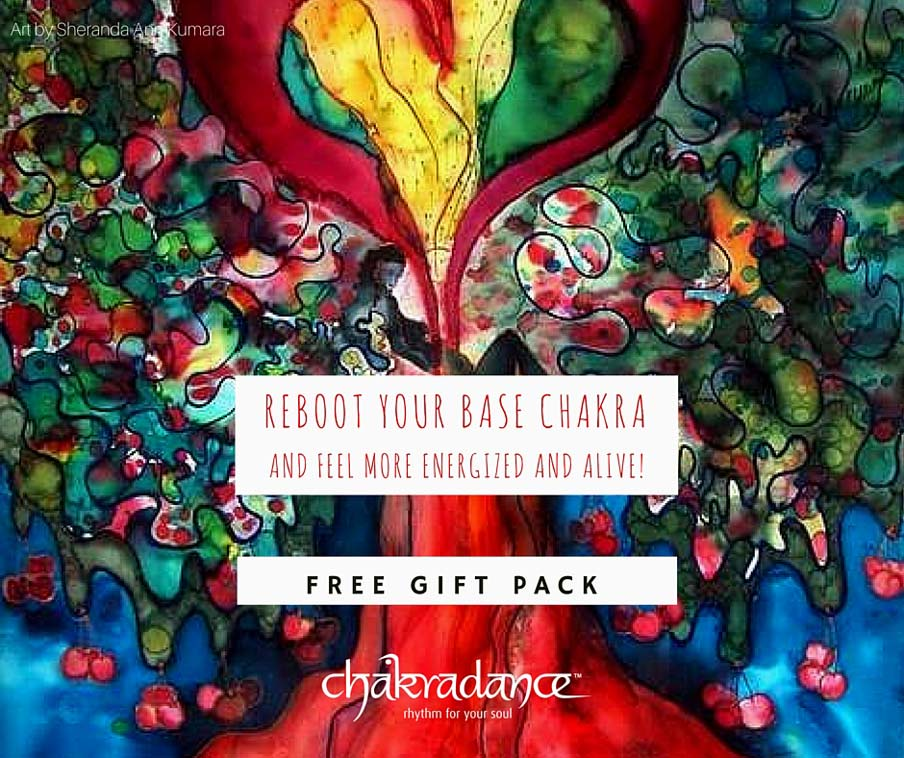 CHAKRADANCE therapy free gift pack from Digital Detox Retreat Canterbury Kent UK